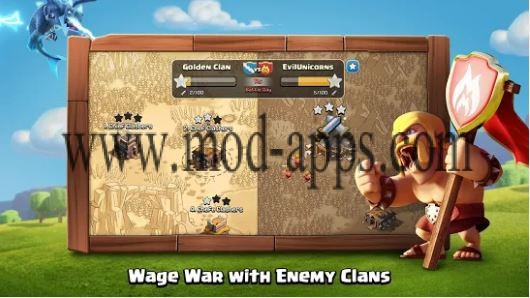clash of clans مهكرة