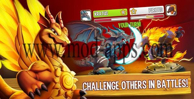 تنزيل لعبة dragon mania مهكرة